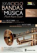 Concierto: XXVIII Ciclo de Bandas de Música Maestro Gregorio Baudot